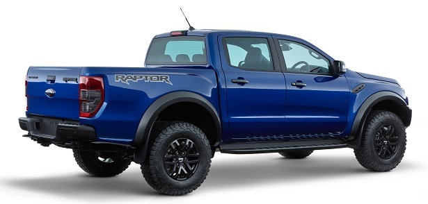 Ford Ranger Raptor rear view
