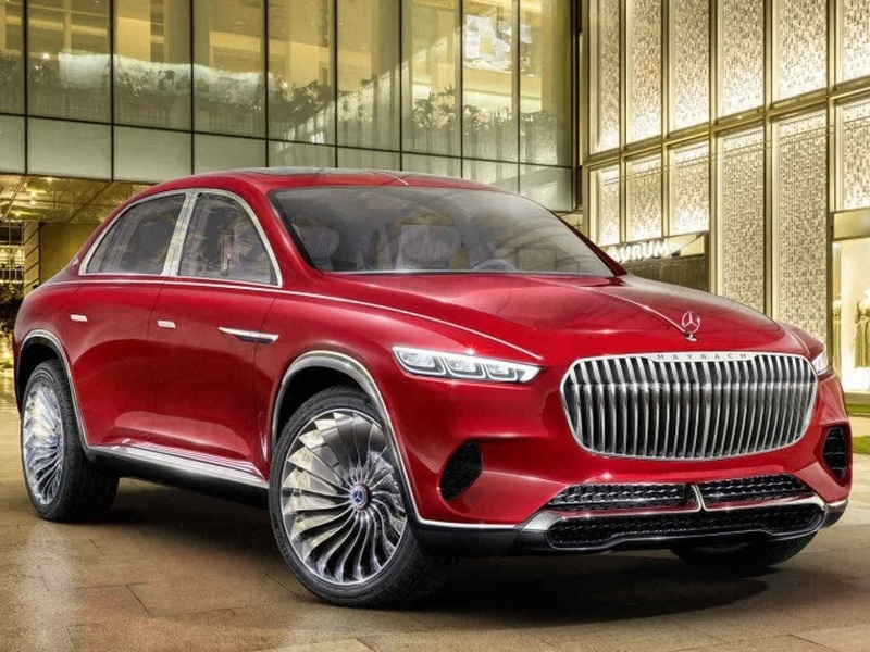 Vision Mercedes Maybach Ultimate Luxury Concept May Shame The