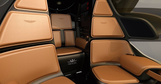 aston martin project neptune seats