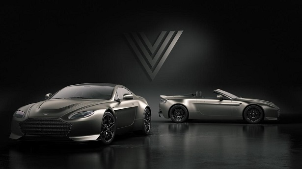 aston martin vantage v600 coupe and convertible