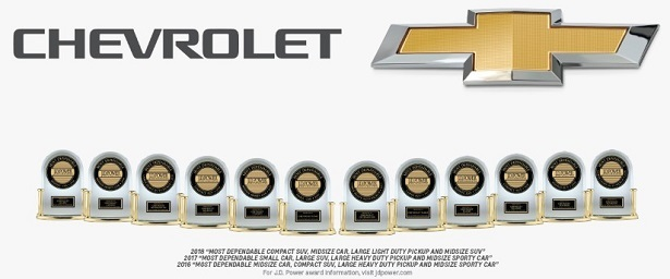Chevrolet J.D. Power Awards
