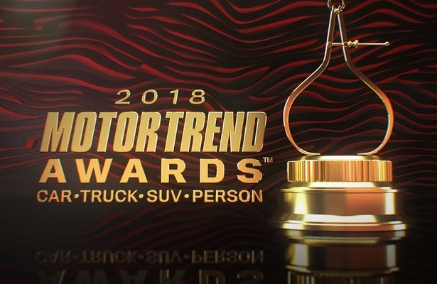 Motor Trend car of the year award