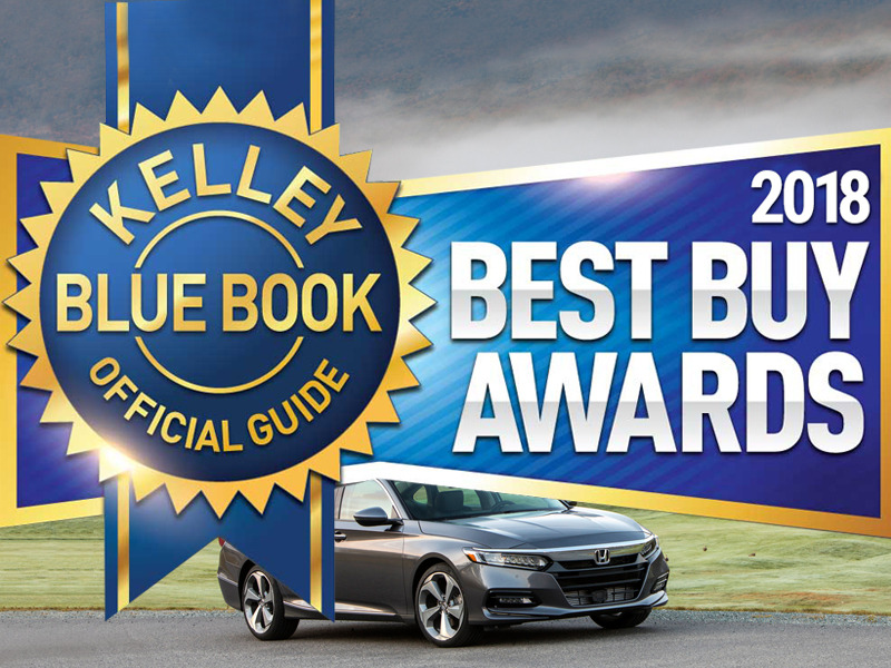 Kelley Blue Book is just one company that gives out highly coveted awards. (Image: Kelley Blue Book)