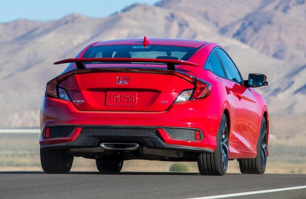 2018 Honda Civic Si has a real exhaust tip