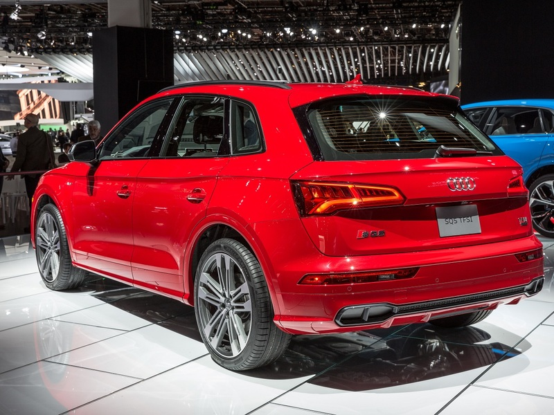 Audi's SQ5 is one of the worst offenders of the fake exhaust design element. (Image: Audi)