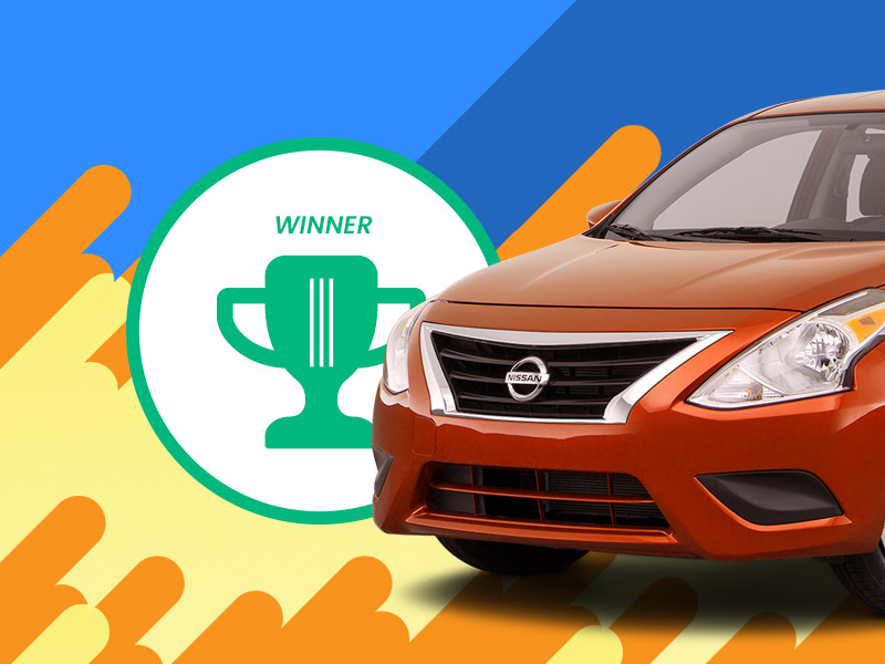 The Nissan Versa is the overall winner and most affordable car in America