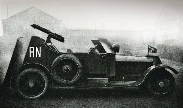 Rolls Royce first armored car