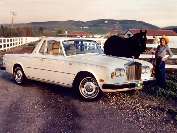 rolls-royce silver shadow pickup