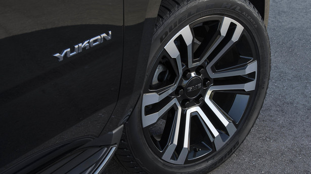gmc yukon denali graphite wheels