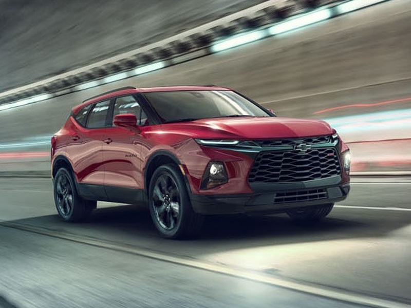 The new Blazer steals the crossover show with its rakish goodness.