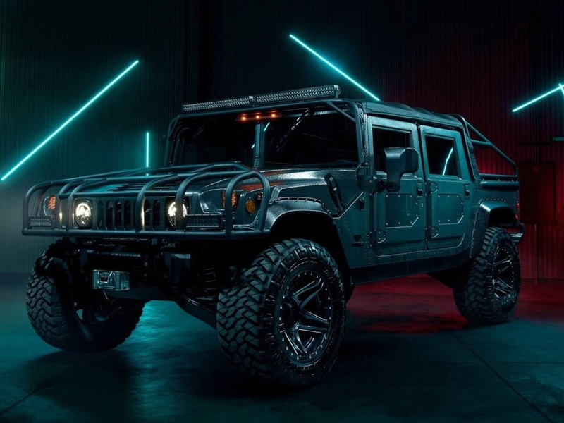 The Mil-Spec Automotive H1 is the apocalypse vehicle we're running to.