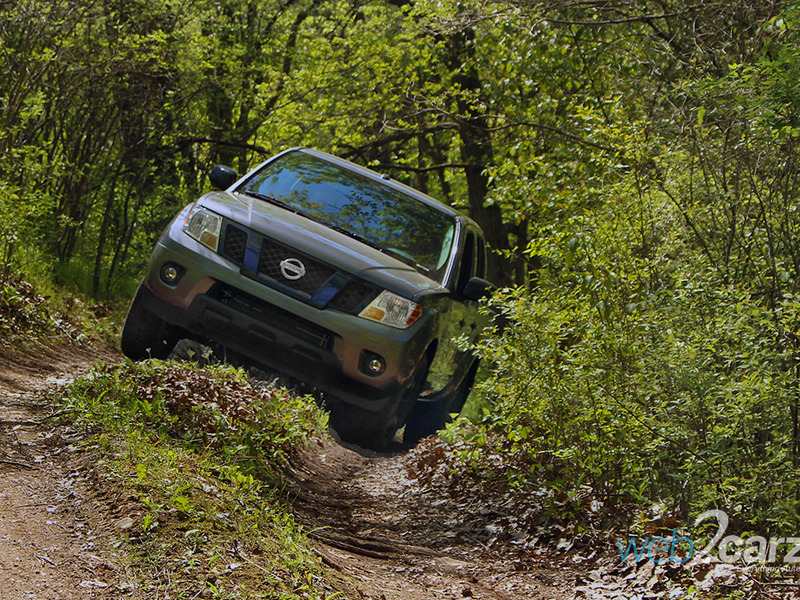 The Frontier has the goods to take on some tough terrain.