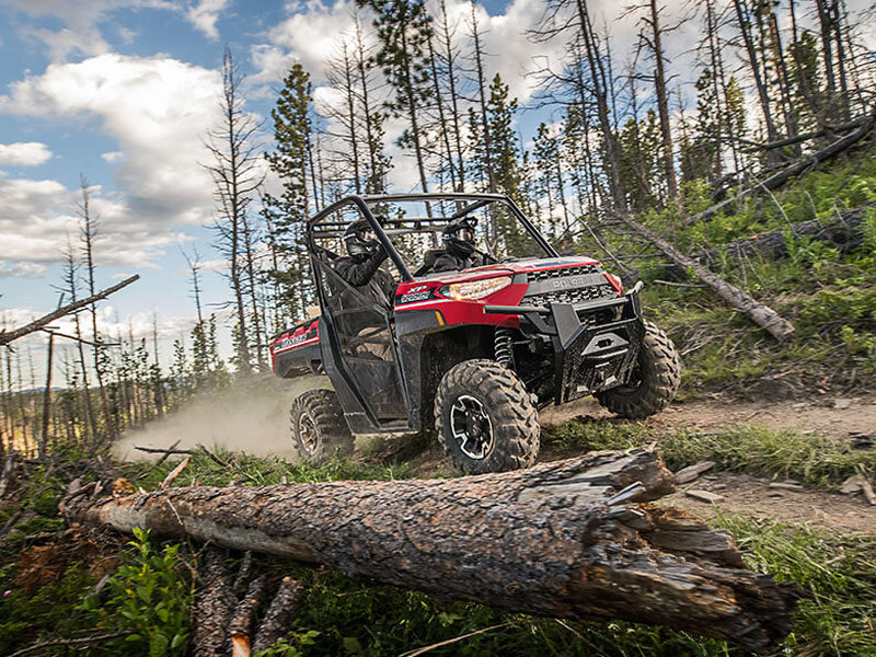 In some states, a vehicle like this Polaris Ranger side by side can be street legal.