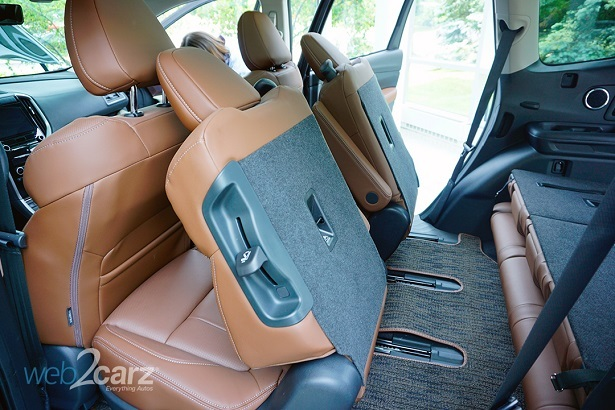 Subaru Ascent Captain's Chairs