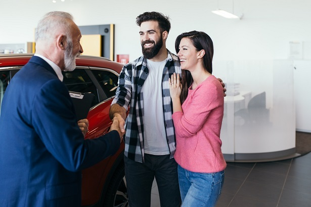 young people buying cars
