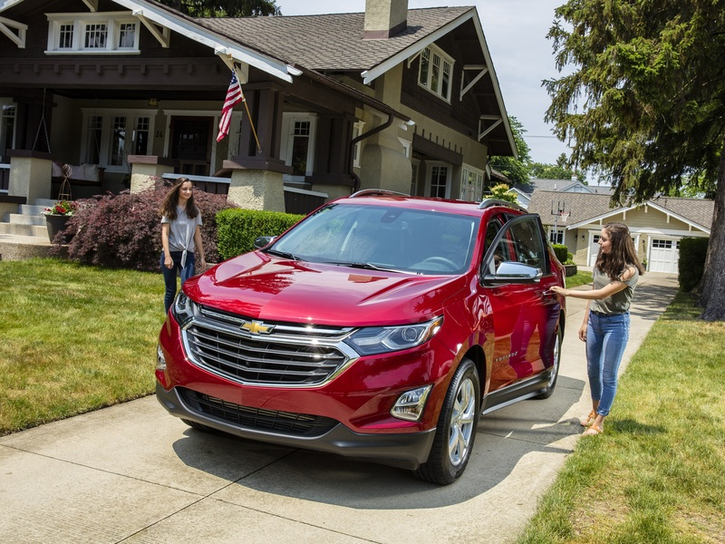The 2018 Chevrolet Equinox is a superb vehicle for the whole family. (Images: Chevy)
