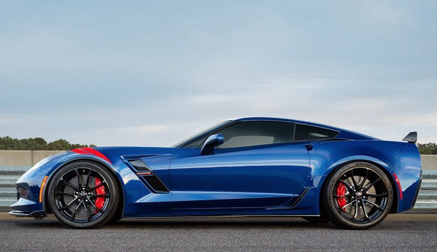 2018 chevy corvette grand sport blue