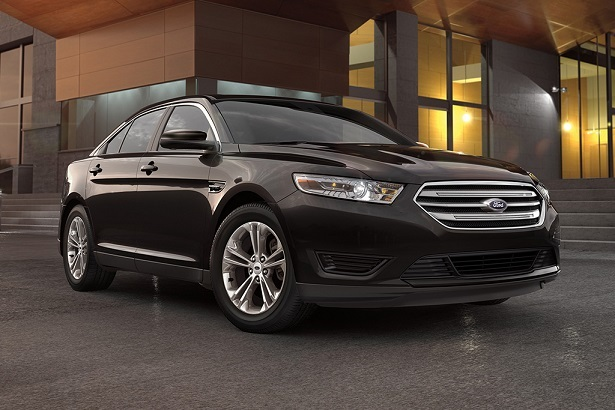2018 ford taurus black