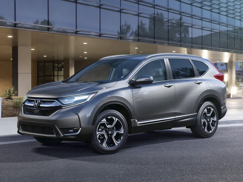 The CR-V finally looks handsome, really handsome.
