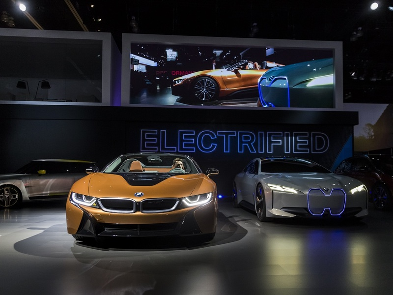 It might be a while before we see BMW unveil a new model at an auto show. (Image: BMW)