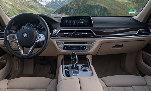 BMW 5-Series Cabin
