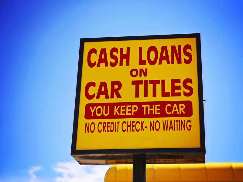 There's a reason title loan companies make it sound so easy.