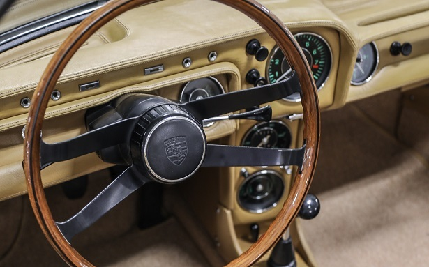1966 porsche 911 spyder steering wheel