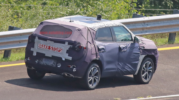 Even With Bulky Camouflage The 2020 Chevy Trax Looks Better Than