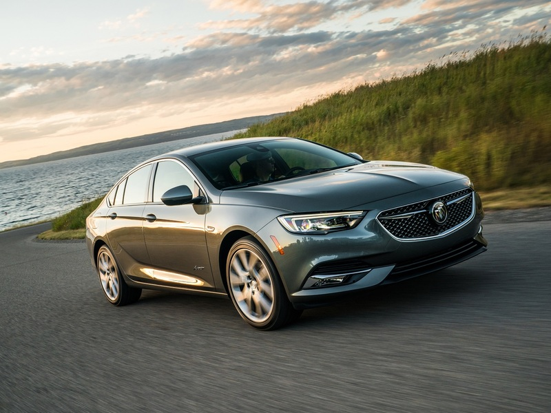 A Buick Regal never looked so good. (images: Buick)