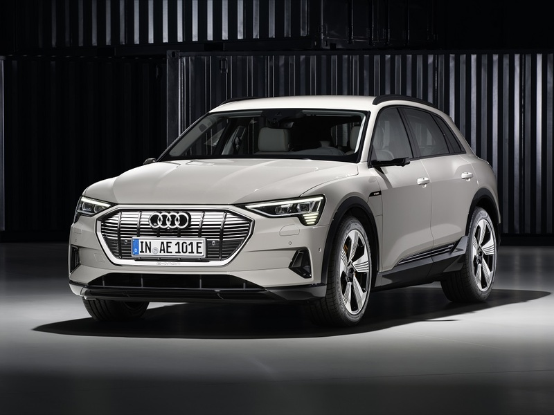 The e-tron marks the start of Audi's electric future. (images: Audi)