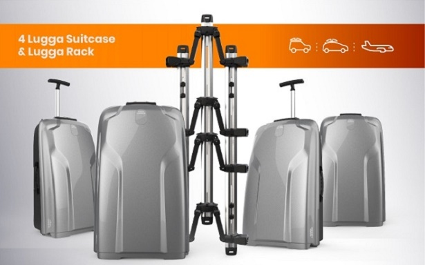 Lugga suitcases