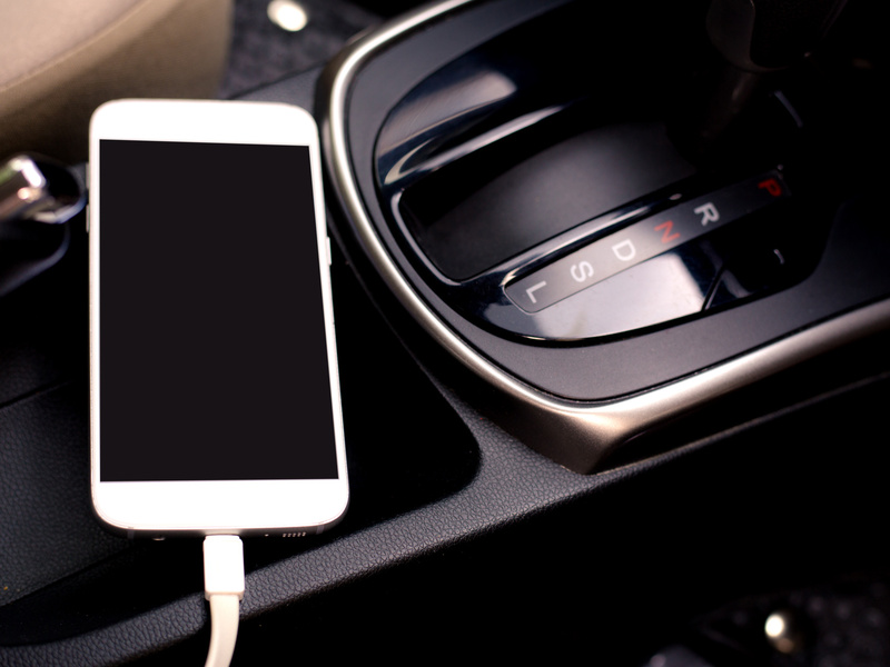 There has got to be a better, safer way. How about a good dash pad?