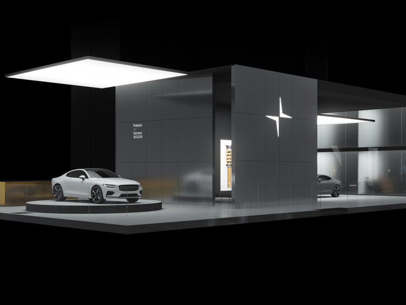 Could the dealership look like this? We hope so. (images: Polestar)