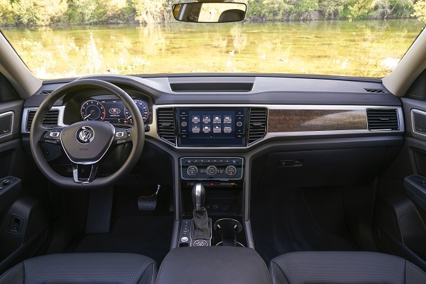 vw atlas interior