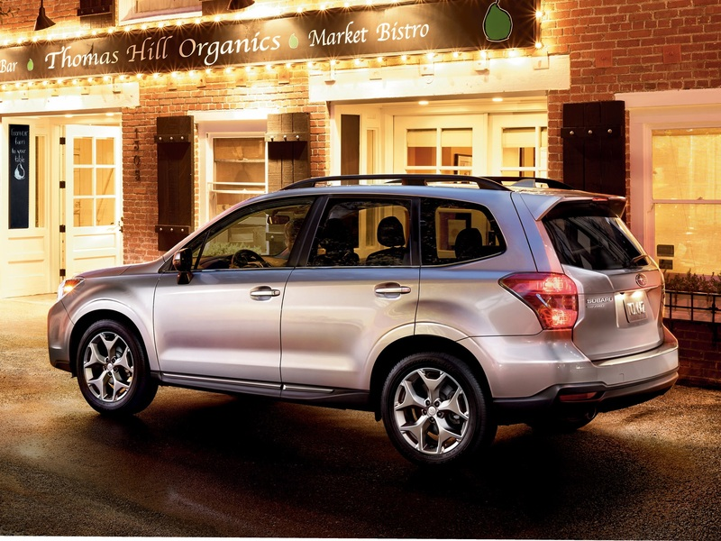 The 2016 Forester still looks great and holds up remarkably well. (images: Subaru)