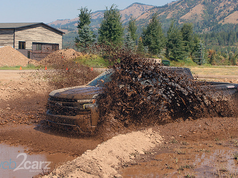 The Chevy Silverado Trail Boss won't get stuck in the mud and cleans up nice.