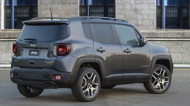 2019 jeep renegade rear 34 gray