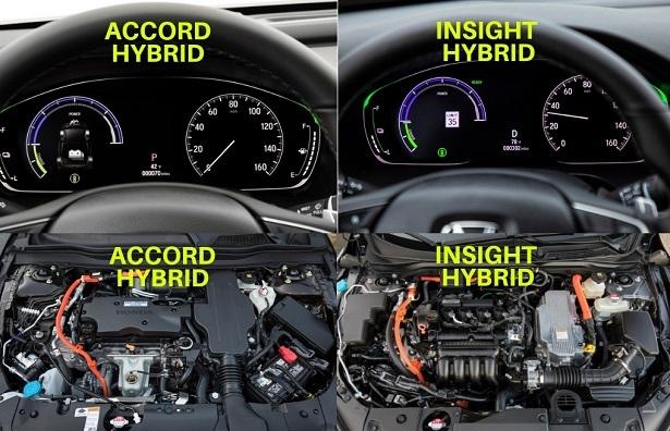 Accord Insight Gauges Engine