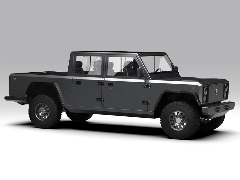 What the Terminator might drive to the Home Depot. (images: Bollinger Motors)