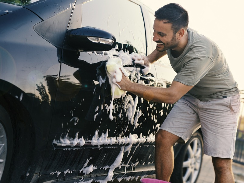 Bonding with your car over a good sponge bath has never been more fun.