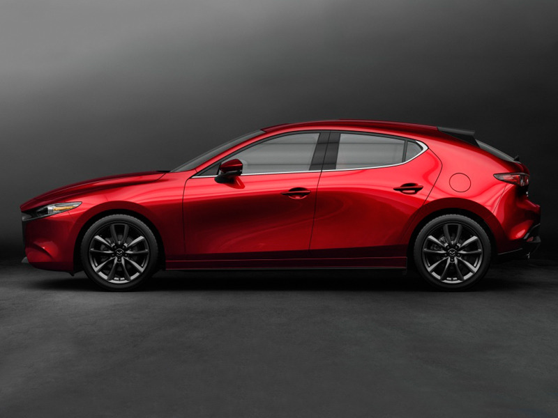 Is there a better looking compact car for sale today? Nope. (images: Mazda)