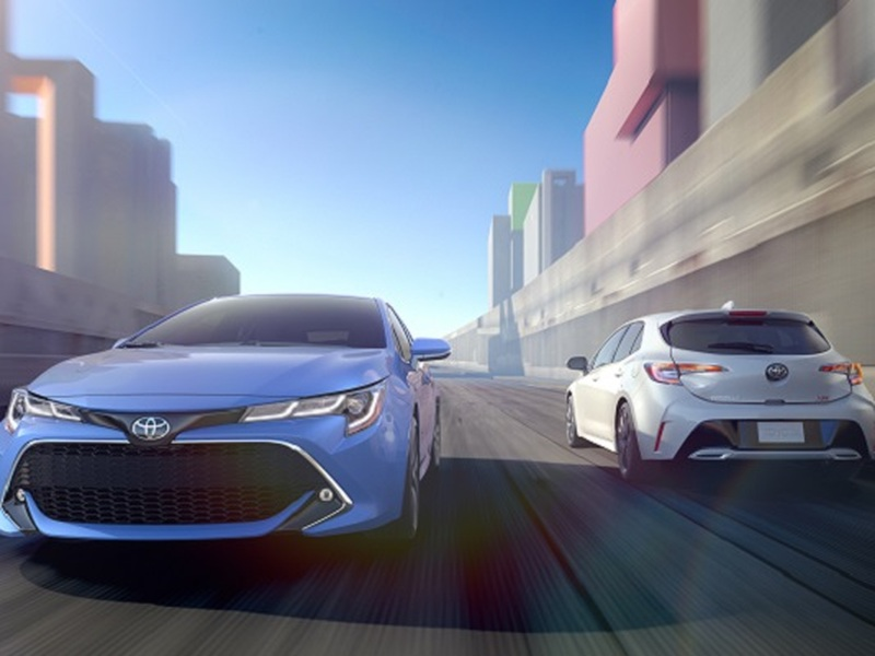 You can't go wrong with a fun and safe hatchback like the 2019 Toyota Corolla.