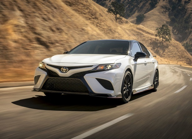 trd camry canyon driving