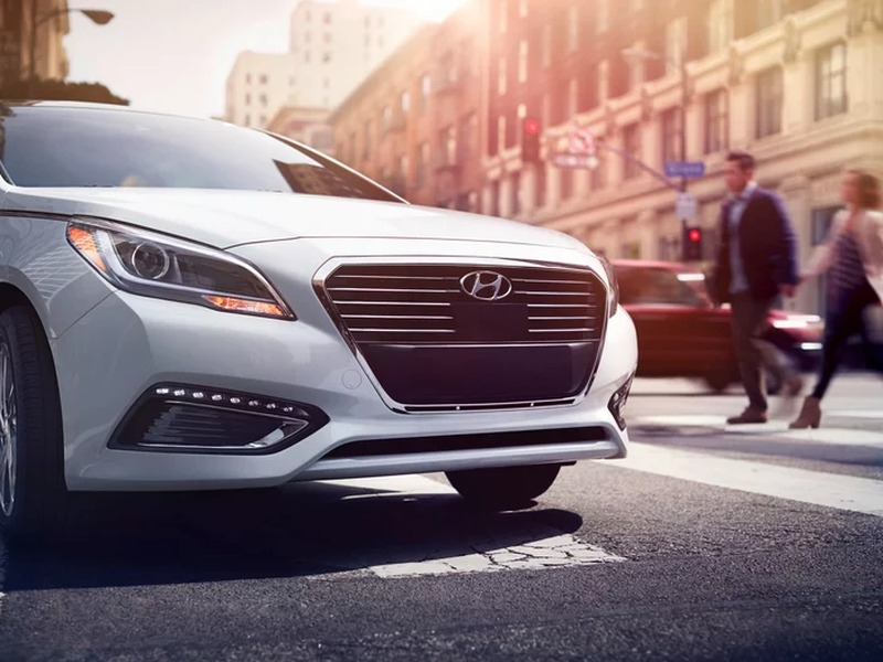 Safety is a huge part of what makes a family sedan great. (image: Hyundai)