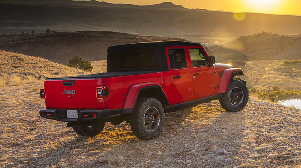 jeep gladiator top up