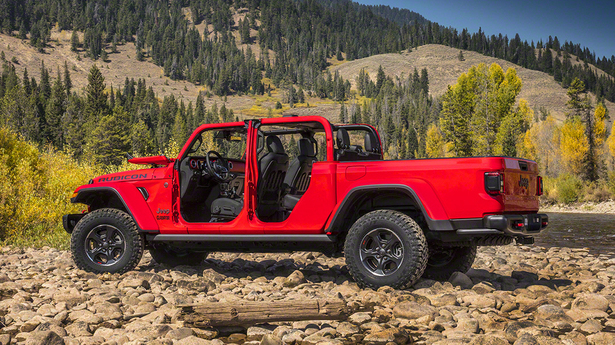 jeep gladiator open