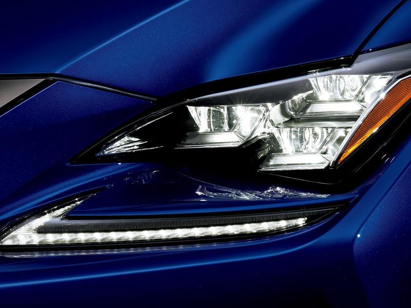 We're guessing changing out your own bulbs will become impossible. (image: Lexus)