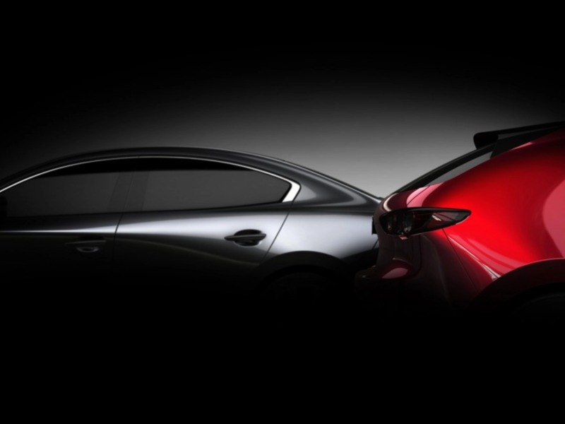 The teaser photo shows us a more refined look. (images: Mazda)