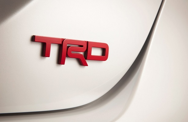 trd camry badge
