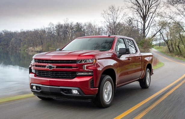 2019 chevy silverado red
